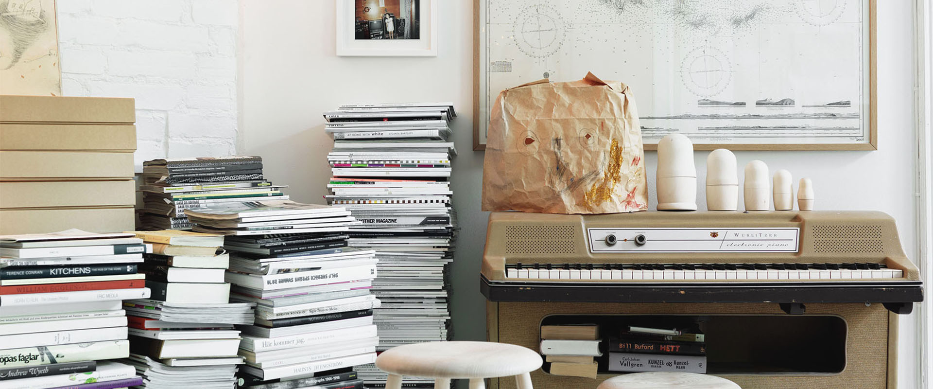 5 idee per arredare e decorare casa con i libri lovethesign for Idee per arredare casa con poco